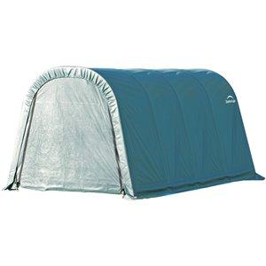 ShelterCoat 8 x 16 ft Garage Round Green STD