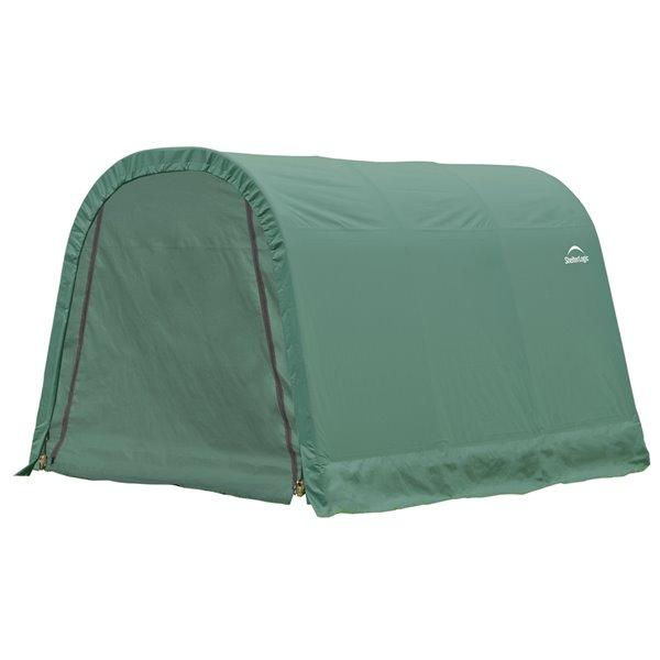 ShelterCoat 10 x 12 ft Garage Round Green STD