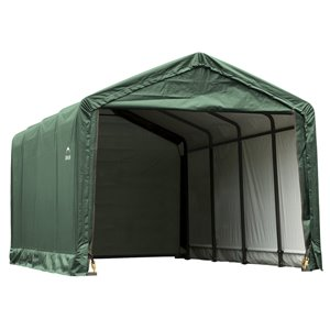 ShelterTube 12 x 20 ft Garage - Green - STD