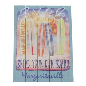 Margaritaville Wall Art - Bring Your Own Board