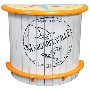 Margaritaville Half Moon Bar - Fins to the Left