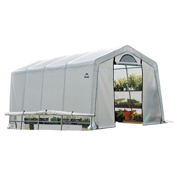 GrowIT Greenhouse-in-a-Box Peak 10x20ft Greenhouse