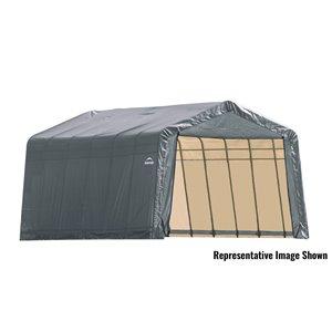 ShelterCoat 13 x 24 ft Garage Peak Gray STD