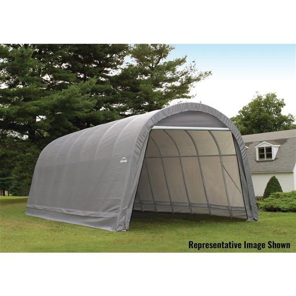 ShelterCoat 15 x 20 ft Garage Round Gray STD