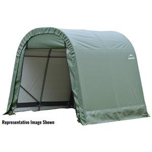 Rond Garage ShelterCoat 11 x 16 pi, Vert standard
