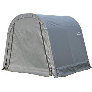Rond Garage ShelterCoat 8 x 8 pi, Gris standard