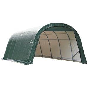 ShelterCoat 12 x 20 ft Garage Round Green STD