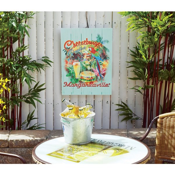 Panneau Jardin Margaritaville