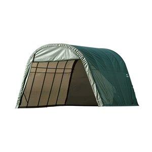 ShelterCoat 13 x 24 ft Garage Round Green STD