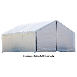 Canopy Enclosure Kit 18 × 40 ft White - Fire Rated