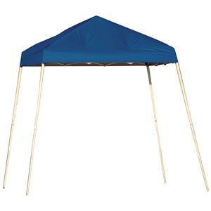 Pop-Up Canopy HD - Slant Leg 8 x 8 ft Blue
