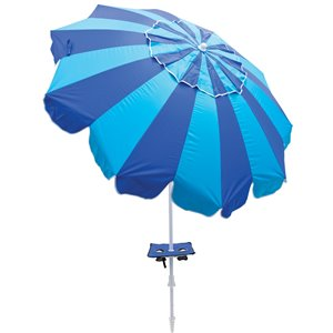 6 ft Umbrella-Integrated Sand Anchor - Stripes