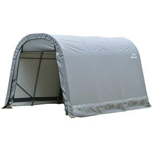 Rond Garage ShelterCoat 8 x 12 pi, Gris standard