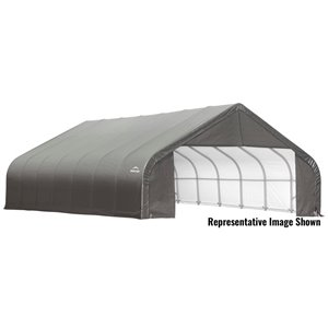 ShelterCoat 28 x 20 ft Garage Peak Gray STD