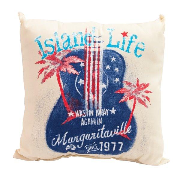Margaritaville 2 Sided Throw Pillows Island Life Tpset34 1 Rona