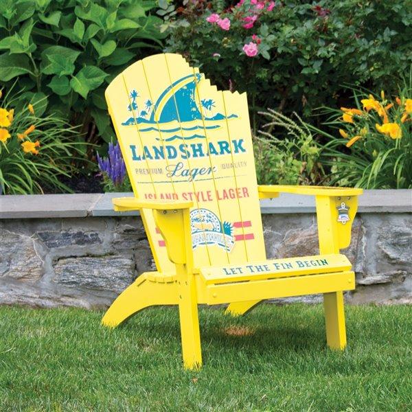 Margaritaville Adirondack Chaise - Landshark Lager