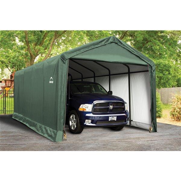 ShelterTube 12 x 25 ft. Garage - Vert - STD