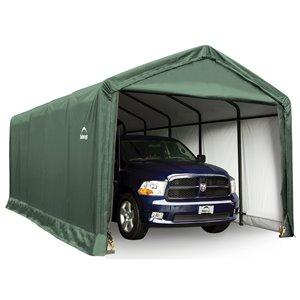 ShelterTube 12 x 25 ft Garage - Green - STD