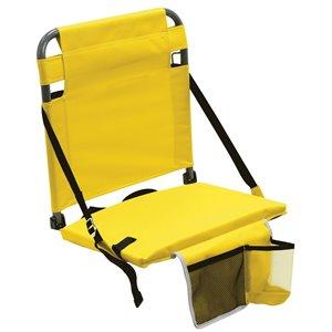 RIO Gear Bleacher Boss Stade Siège, poche, jaune
