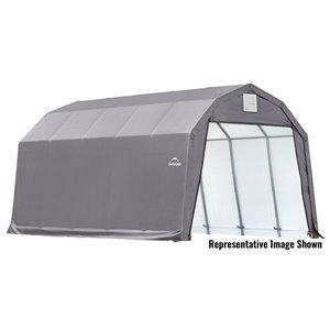 ShelterCoat 12 x 20 ft Garage Barn Gray STD