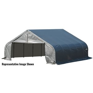 ShelterCoat 22 x 24 ft Garage Peak Gray STD