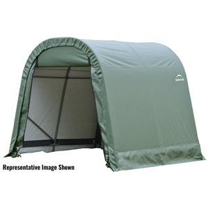Rond Garage ShelterCoat 11 x 12 pi, Vert standard