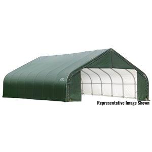 Garage à pignon ShelterCoat 28 x 20 pi, Vert