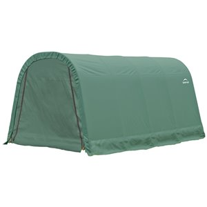 ShelterCoat 10 x 16 ft Garage Round Green STD