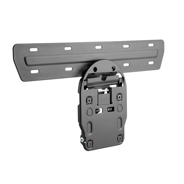 TygerClaw Micro Gap Wall Mount for - 55-in to 65-in - Black