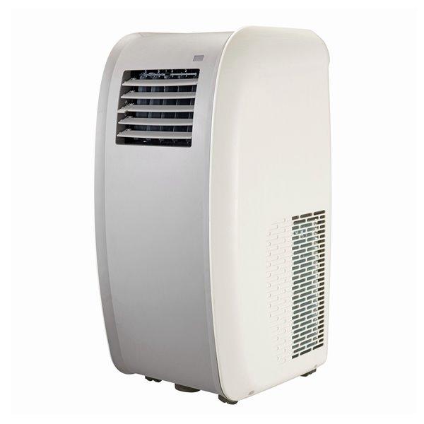 Climatiseur portable Tosot, 14,000 BTU, 3 vitesses, 550 pi², blanc