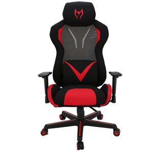 TygerClaw High-Back Relax Manager Chair - Black/Red