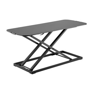 TygerClaw Tabletop Workstation - 15.75-in x 31.34-in - Black