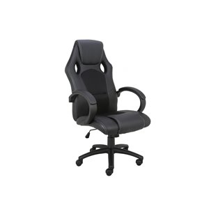 TygerClaw Executive High-Back Gaming Style Chair - Black