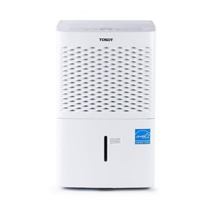Tosot Dehumidifier with Pump - 50-Pint - White