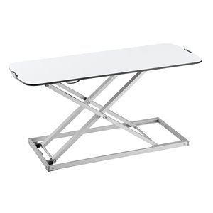 TygerClaw Tabletop Workstation - 15.75-in x 31.34-in - White