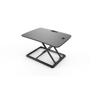 TygerClaw Height Adjustable Standing Desk - 15.74-in x 26-in - Black