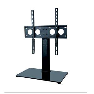 Support sur table pour téléviseur TygerClaw, 32 po à 55 po, noir