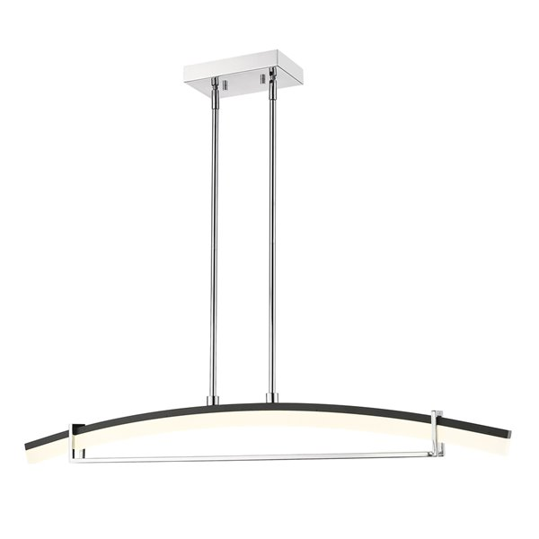 Z-Lite Arc 1 Light Chandelier - 43.5-in - LED