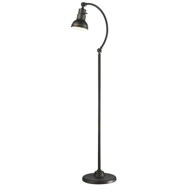 Lampe sur pied à 1 lumière Ramsay de Z-Lite, 11,4 po x 59,5 po, bronze antique
