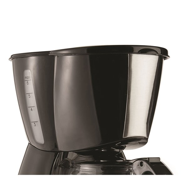 Brentwood 4 Cup Coffee Maker - Warming plate and reusable filter - Black