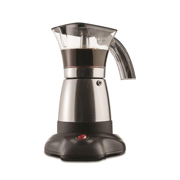 Brentwood Electric Moka Pot Espresso Machine - 6-Servings