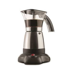 Brentwood Electric Moka Pot Espresso Machine - 6-Servings