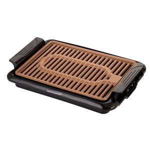 Brentwood Indoor Electric Copper Grill 1000 W - Cooking surface 10-in x 5-in