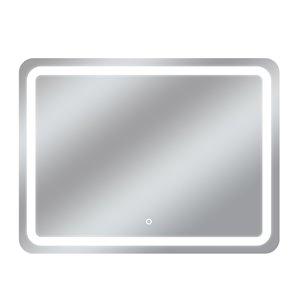 Miroir avec DEL tricolore Egret de Dyconn Faucet, rectangulaire, 48 po x36 po