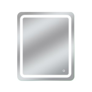 Miroir avec DEL tricolore Egret de Dyconn Faucet, rectangulaire, 30 po x 36 po