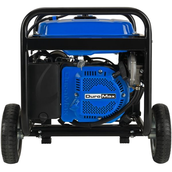 DuroMax Electric Start Dual Fuel Hybrid Portable Generator - 7.5 HP Engine - 5,000 Watts
