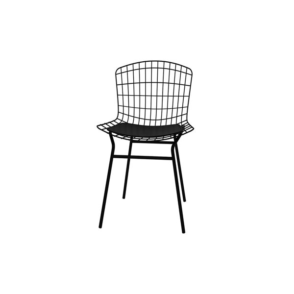 Manhattan Comfort Madeline Dining Chair - 31.89-in - Black