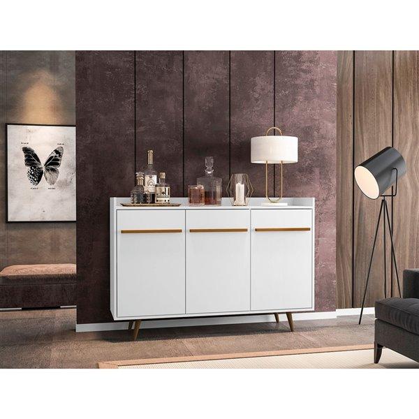 Manhattan Comfort Bradley Buffet - 53.54-in - White