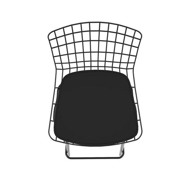 Manhattan Comfort Madeline Barstool - 27.95-in - Black