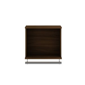 Manhattan Comfort Rockefeller Floating Hanging Closet - 20.8-in - Brown